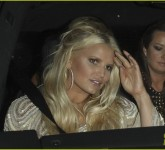 *EXCLUSIVE* Jessica Simpson and Eric Johnson : Dinner With Friends