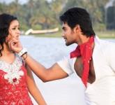 Aadi Shanvi Unseen Hot Lovely Movie Aadi Shanvi Lovely Movie Romantic Stills