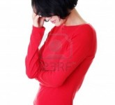 15010800-young-sad-woman-have-big-problem-or-depression-over-white-background