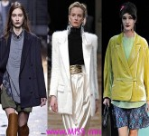Women's Fashion Jackets and Blazer Trends For Fall Winter 2013-2014