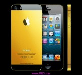 Original Apple iPhone 5 Gold Edition by MJ Luxury Tuning