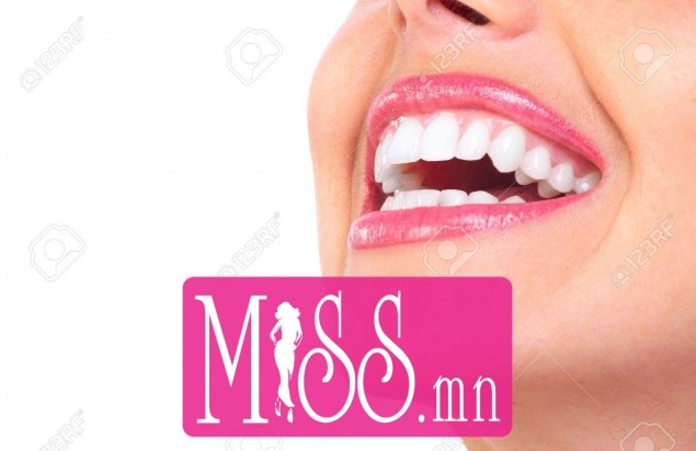 6732744-Beautiful-young-woman-teeth-Isolated-over-white-background--Stock-Photo