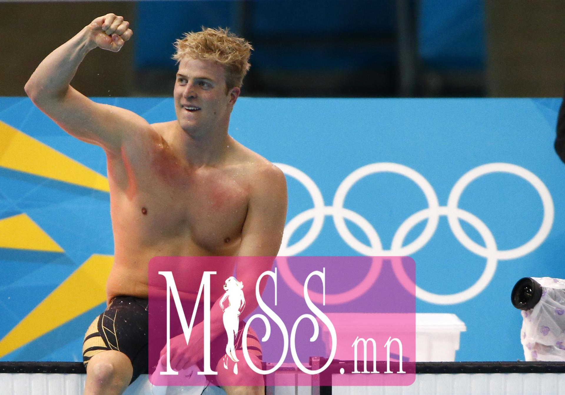 Germany's Steffen Deibler reacts after his men's 100m butterfly semi-final during the London 2012 Olympic Games